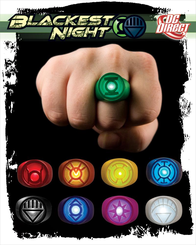 Кольцо зелёного фонаря своими руками