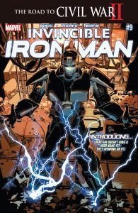 004 Invincible Iron Man #9