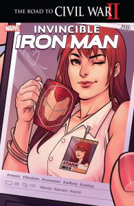 006 Invincible Iron Man #10