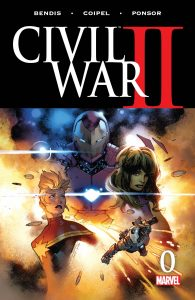 008 Civil War II #0